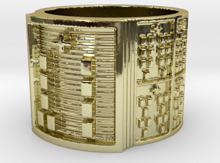 OGBEYONO Ring Size 14 3d printed