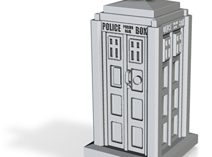 Police Call Box 3d printed