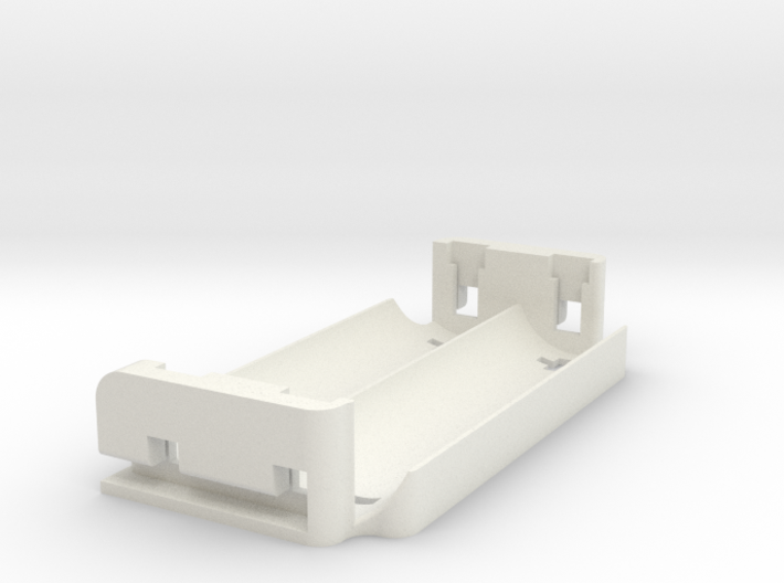 Dual 18650 Parallel Sled for Alpinetech P+ 3d printed