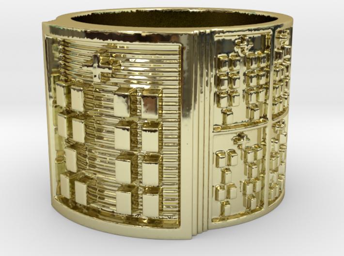 OYEKUNBATRUPON Ring Size 13.5 3d printed