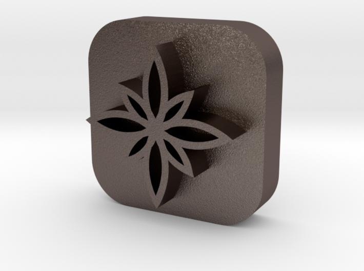 Flower-stamp-3 3d printed