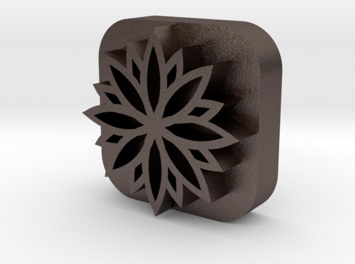 Flower-stamp 3d printed