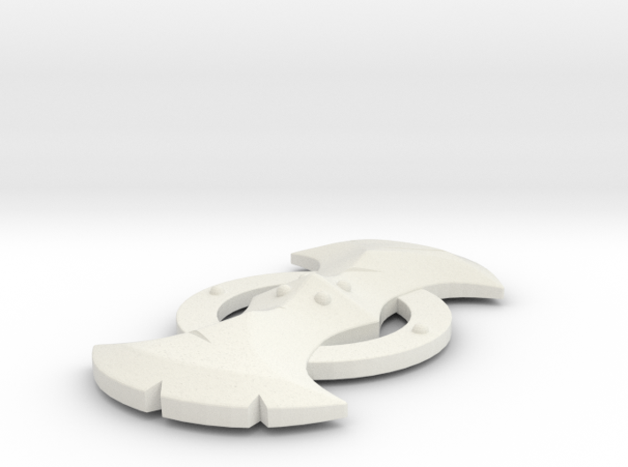 "Lynel Shield - 3"" replica 3d printed"