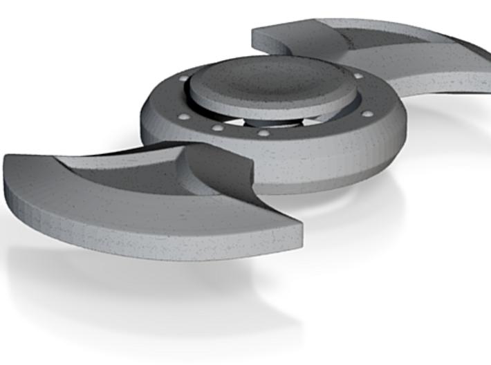 Fidget Spinner - Bladed 3d printed