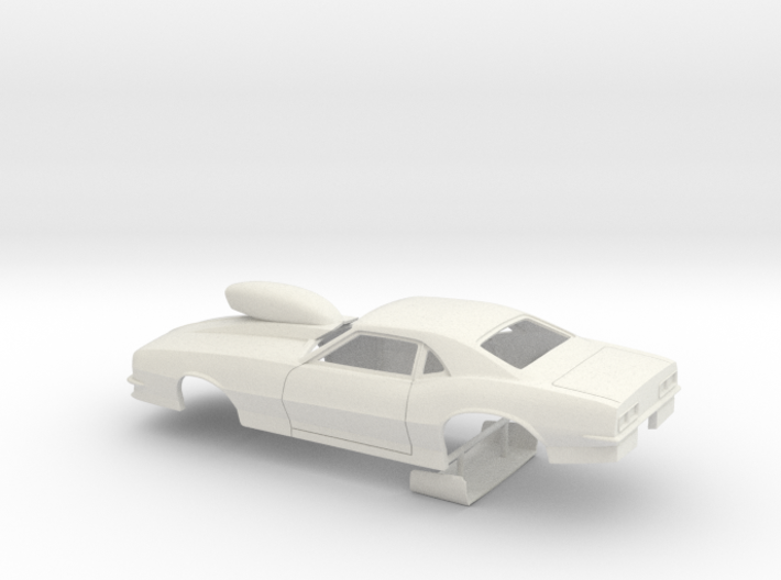 1/25 Pro Mod 68 Camaro With Scoop 3d printed