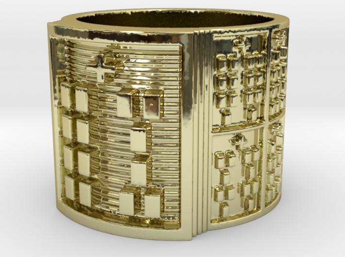 IWORIYEKUN Ring Size 11-13 3d printed
