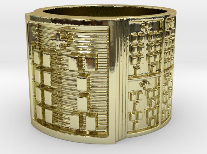 IWORIYEKUN Ring Size 13.5 3d printed