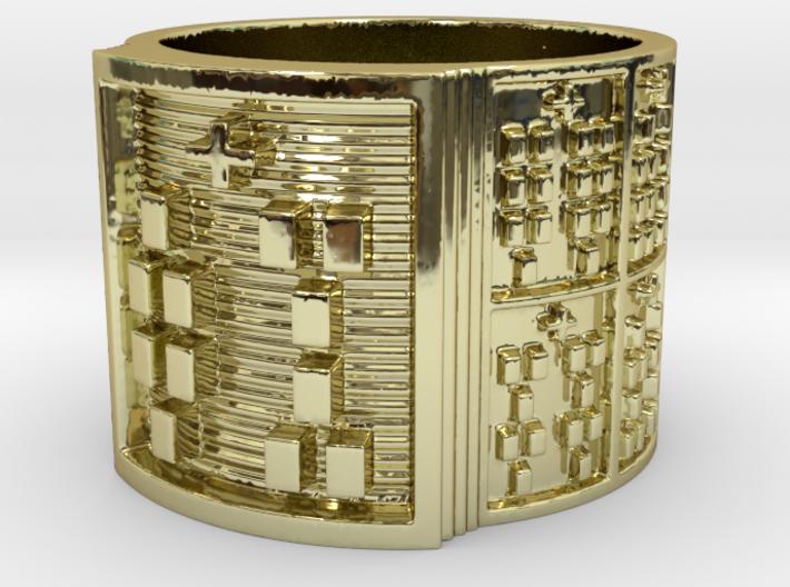 IWORIBODE Ring Size 14 3d printed