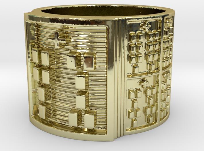 IWORIJUANI Ring Size 14 3d printed
