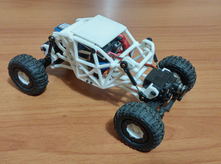 R1 Rock Buggy for Losi Micro Rock Crawler - Roof 3d printed
