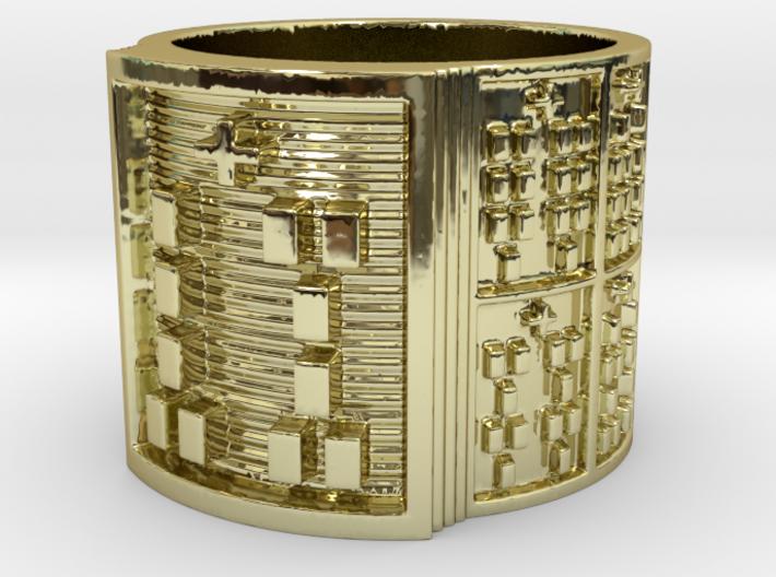 IWORIGUNDA Ring Size 11-13 3d printed