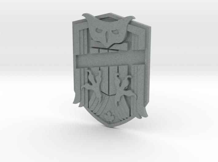Judge Dredd Variant Badge Blank 3d printed