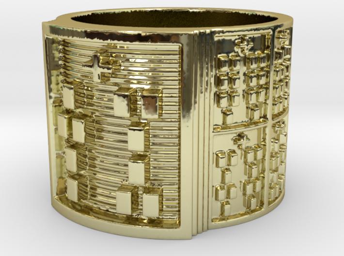 IWORITURA Ring Size 13.5 3d printed