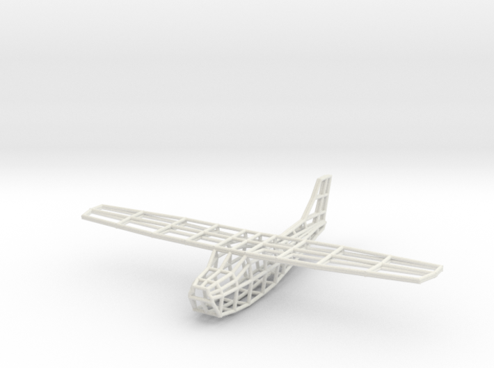 Cessna Wireframe 3d printed
