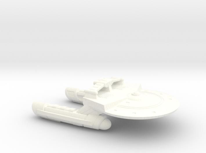 Terran Renown Class Frigate - 1:7000 3d printed