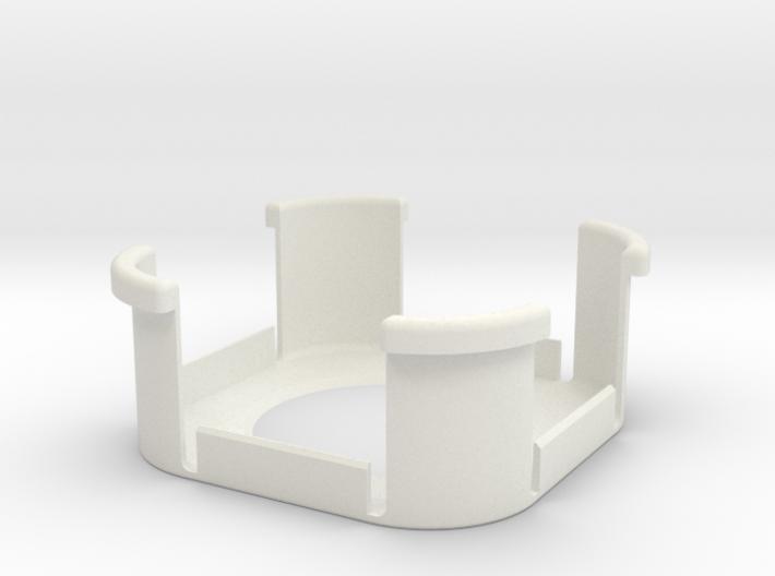 Fibaro Motion Sensor adapter for Aeon recess mount 3d printed
