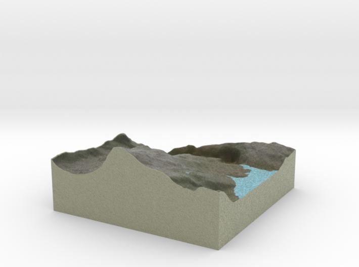 Terrafab generated model Fri Apr 21 2017 21:42:55 3d printed