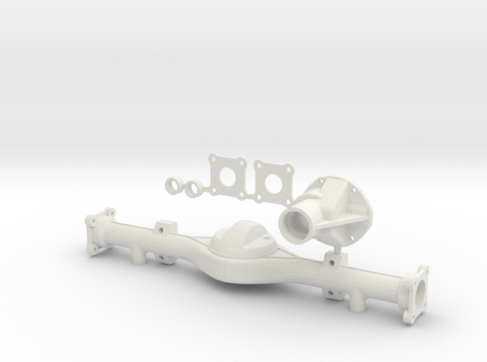 Hilux Rear Axle Bottom Leaf Attachment 3d printed
