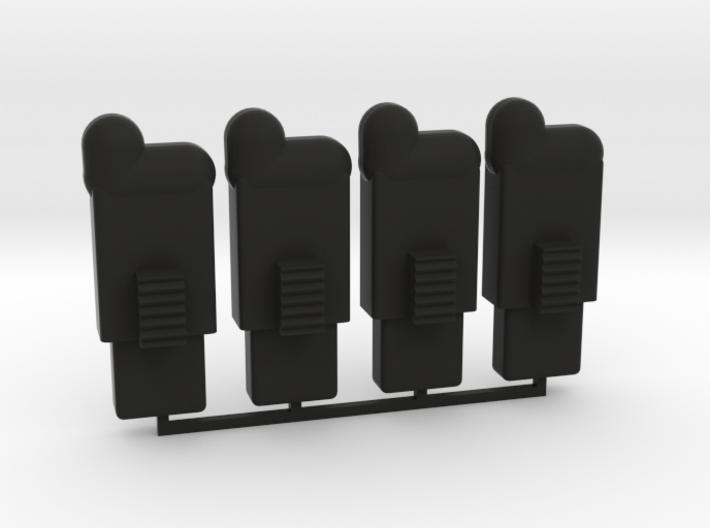 Swiss Arms Uzi -bb Folower 4x 3d printed