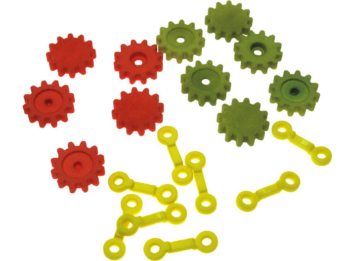 Gear Chain 3d printed