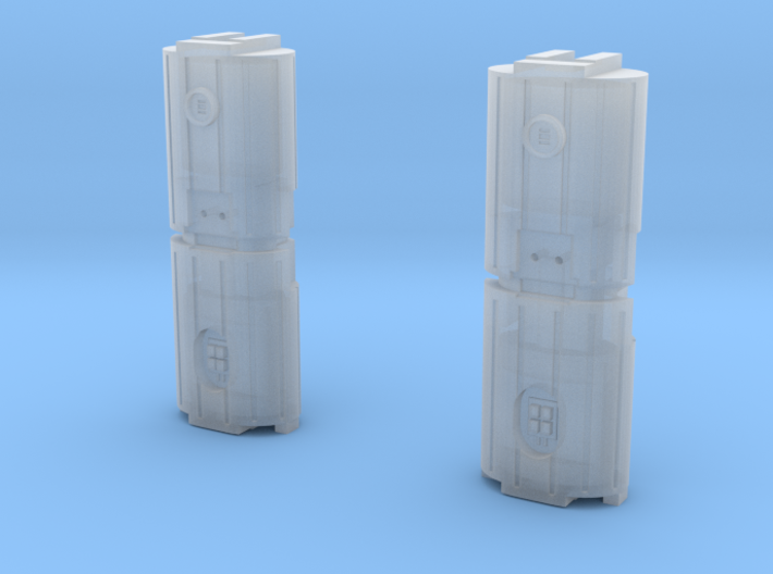 Docking Bay Dual Barrel Things, 1:72 3d printed