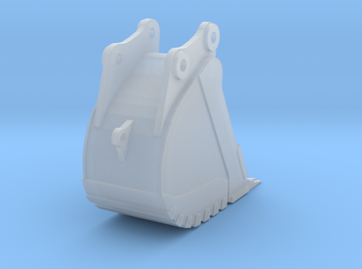 85 Ton Trench Bucket 3d printed