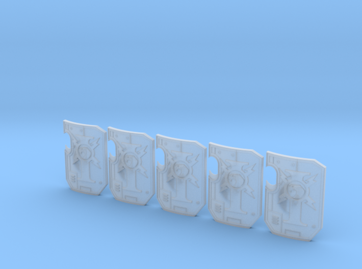 5x Custodian Guard - Terminator Wall Shields w/Han 3d printed