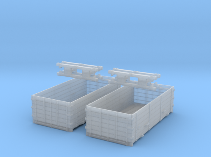 A pair of DX Containers 3d printed