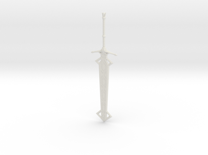 """""""BotW"""" Great Frostblade 3d printed"""