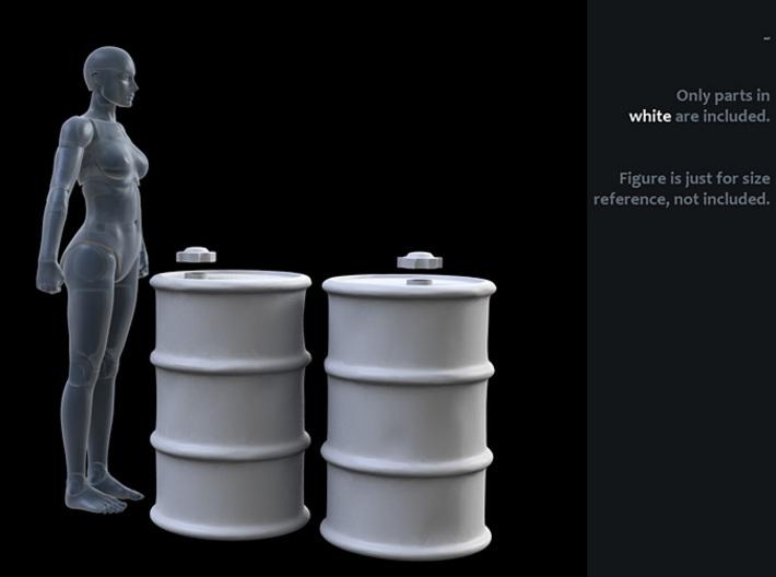 ACC-12-Barrels-ss 3¾inch 3d printed
