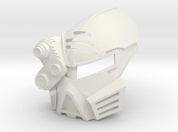 Kanohi Mata Fusion (just-rube's Toa Nui) 3d printed