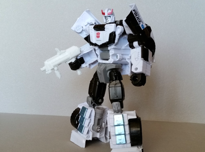 """""""AP7"""" Transformers Weapon (5mm post) 3d printed Combiner Wars Prowl"""