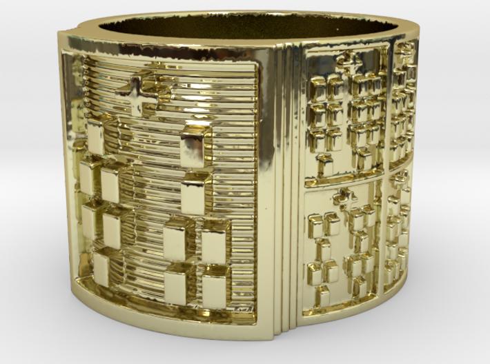 IROSODI Ring Size 14 3d printed