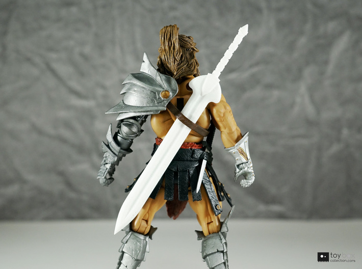 Champion blade for Mythic Legions 3d printed Fit in the sword belt!
