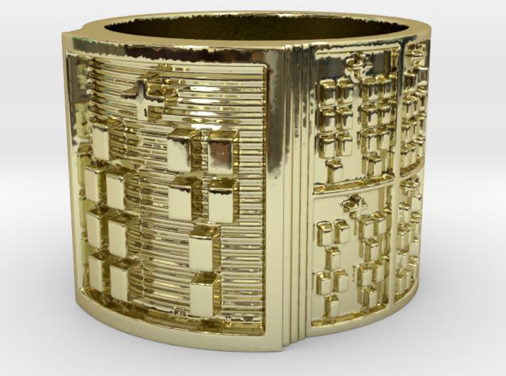 OJUANIBARA Ring Size 13.5 3d printed
