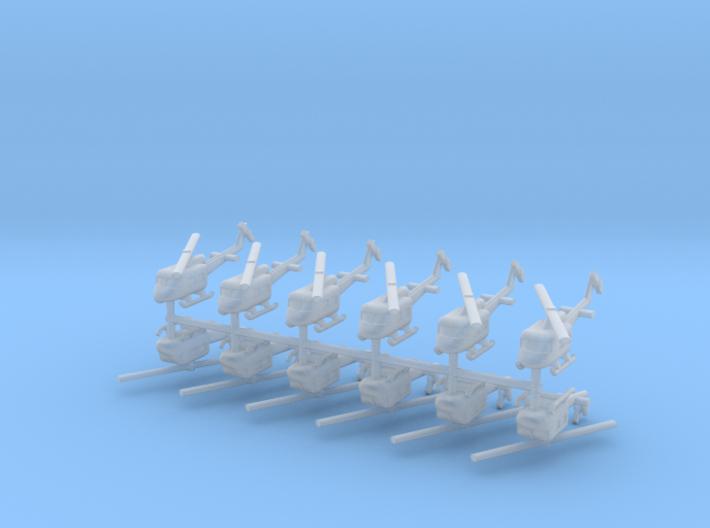 1/500 UH-1 Huey (x12) 3d printed