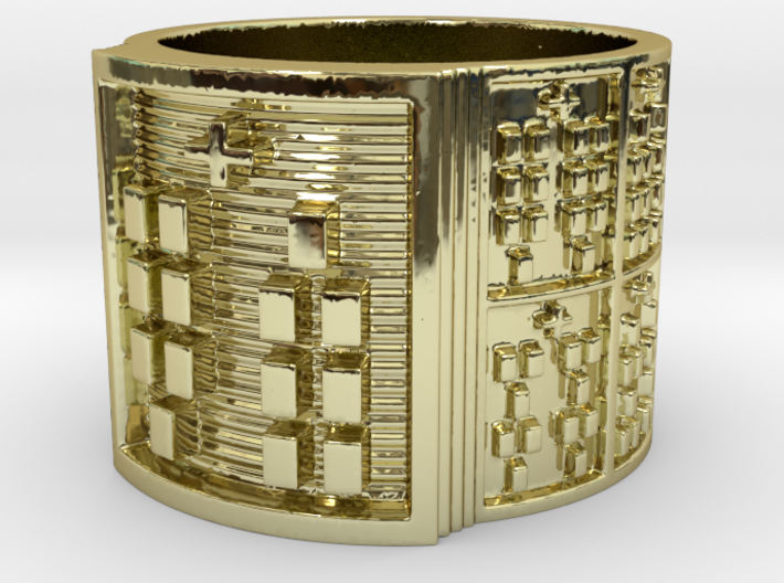 OBARAKANA Ring Size 14 3d printed
