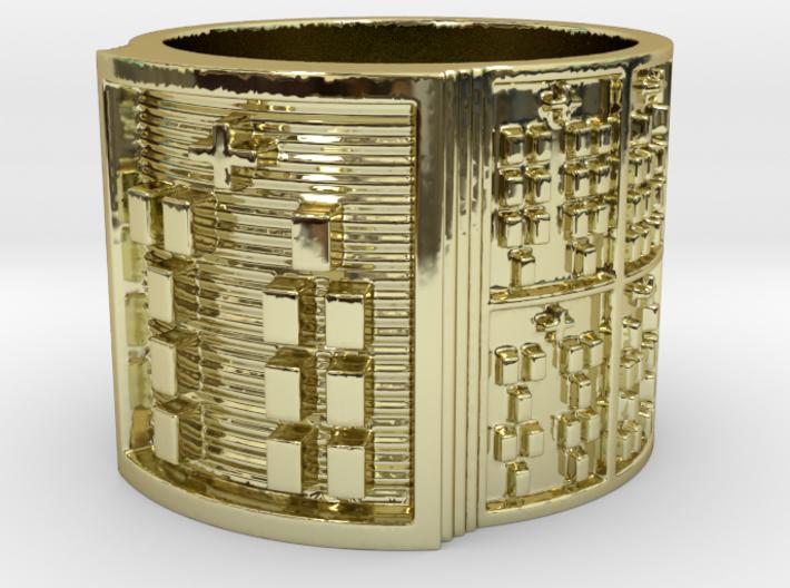 OBARASA Ring Size 13.5 3d printed