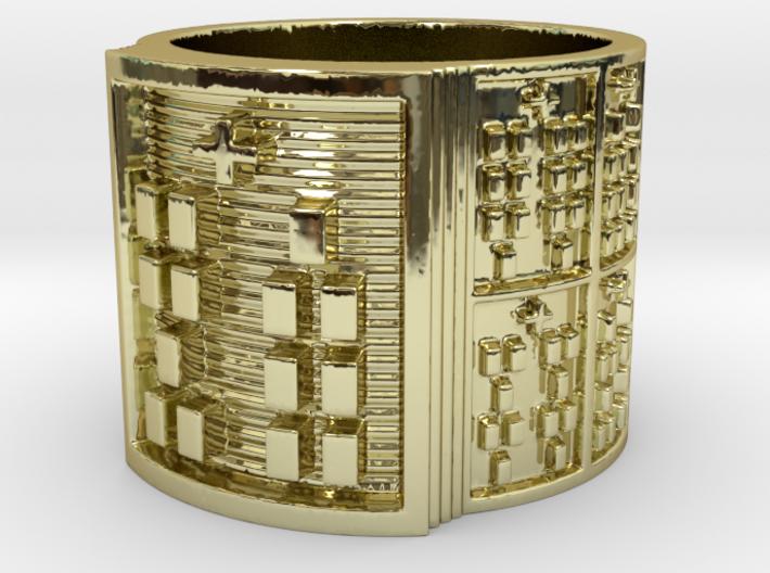 OBARATRUPON Ring Size 11-13 3d printed