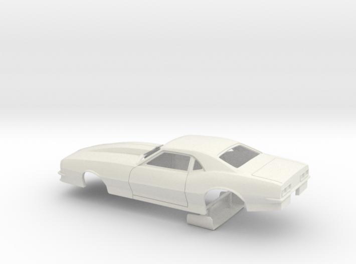 1/25 Pro Mod 68 Camaro W Small Wheel Wells 3d printed