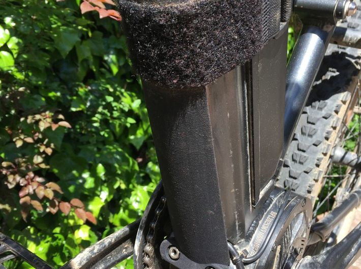 FLX Front Down Tube Guard 3d printed