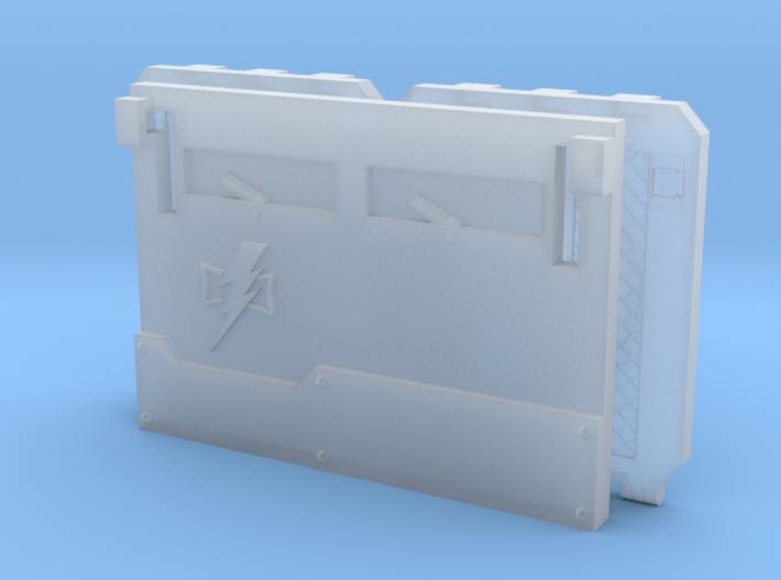 "Space Scars ""Metal Box APC"" Set #1 3d printed"