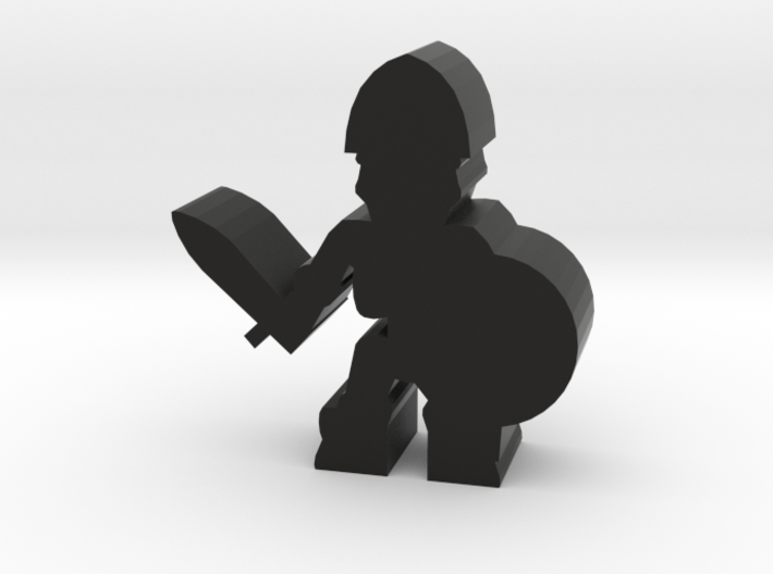 Game Piece, Skeleton Soldier, Sword 3d printed