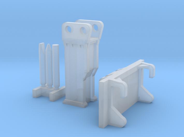 1:50 Hammer for DM 242D/259D and Bobcat E35 3d printed