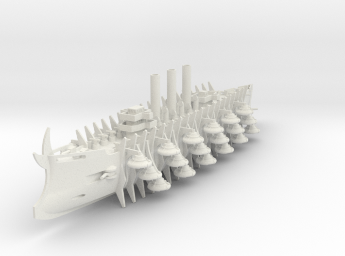 Trireme Airship Zaphnora 3d printed