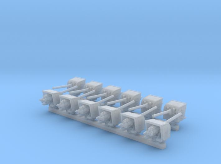 "1/700 HMS Hood 5.5"" MKI Guns Ports Open x12 3d printed 1/700 HMS Hood 5.5"" MKI Guns Ports Open x12"