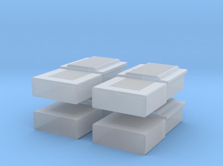 TJ-H01107x4 - boitiers electriques maison individu 3d printed