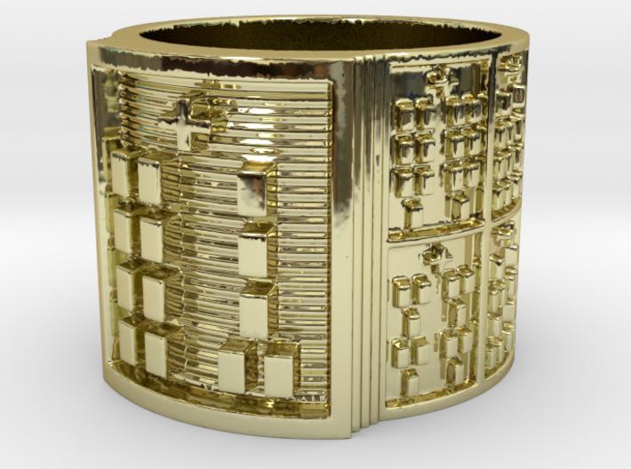 OGUNDAYEKUN Ring Size 11-13 3d printed