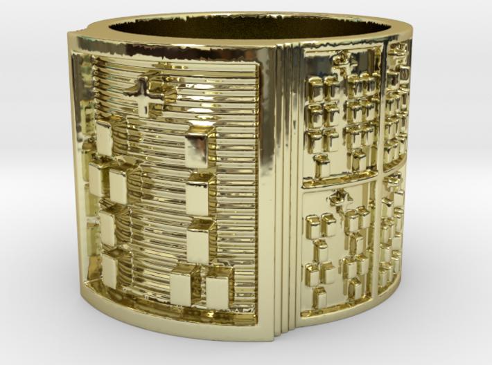 OGUNDATETURA Ring Size 11-13 3d printed