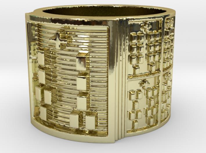 OGUNDAKETE Ring Size 13.5 3d printed
